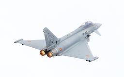 LEEUWARDEN, PAYS-BAS - 10 JUIN : L'Armée de l'Air espagnole Eurofig Images stock
