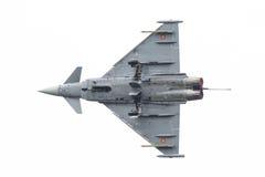 LEEUWARDEN, PAYS-BAS - 10 JUIN : L'Armée de l'Air espagnole Eurofig Image libre de droits