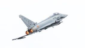 LEEUWARDEN, PAYS-BAS - 10 JUIN : L'Armée de l'Air espagnole Eurofig Photographie stock