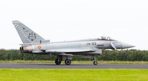LEEUWARDEN, PAYS-BAS - 10 JUIN : L'Armée de l'Air espagnole Eurofig Photo libre de droits