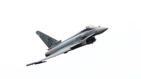 LEEUWARDEN, PAYS-BAS - 10 JUIN : L'Armée de l'Air espagnole Eurofig Photographie stock libre de droits