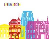Leeuwarden skyline pop Stock Image