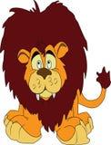 Leeuwbeeldverhaal Royalty-vrije Stock Foto's