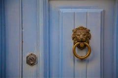 Leeuwdeurknop Royalty-vrije Stock Afbeeldingen