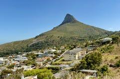 Leeuwenhoofd, Kaapstad Stock Afbeelding