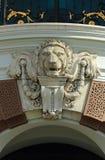 Leeuwstandbeeld Stock Afbeelding