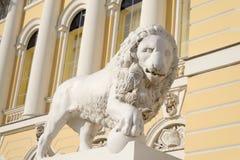 Leeuwstandbeeld, St. Petersburg royalty-vrije stock foto