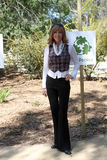 Leeza Gibbons. Arrives at the Green Hollywood Tree Planting at TreePeople's Headquarters in Coldwater Canyon Park  in Los Angeles, CA on April 16, 2009 Royalty Free Stock Photo