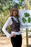 Leeza Gibbons. Arrives at the Green Hollywood Tree Planting at TreePeople's Headquarters in Coldwater Canyon Park  in Los Angeles, CA on April 16, 2009 Royalty Free Stock Photos