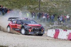 Lefebvre, Citroën C3 WRC Stock Afbeeldingen