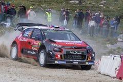 Lefebvre, Citroen C3 WRC Fotografia Stock