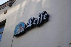 Leffe piwa signage Fotografia Royalty Free