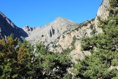 Lefka Ori mountains Royalty Free Stock Image
