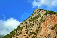 Lefka Ori - rocky summit of the White Mountains Stock Photos
