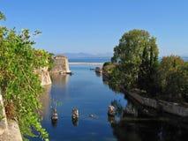 Lefkada, castle 4 Royalty Free Stock Photography