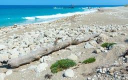 Lefkada coast summer beach (Greece) Royalty Free Stock Photography