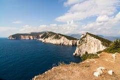 Lefkada coastline Stock Photos