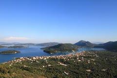Lefkada, Griechenland Stockbild
