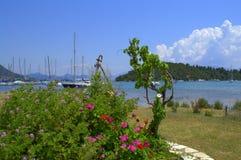 Lefkada island coast summer view Stock Photography