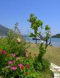 Lefkada island coast summer view Royalty Free Stock Photography