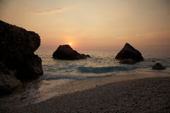 Lefkada island, Greece Royalty Free Stock Photo