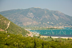 Lefkada island, Greece Royalty Free Stock Images