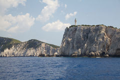 Lefkada island, Greece Royalty Free Stock Images
