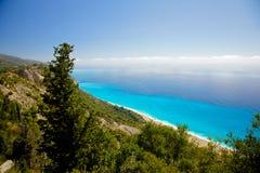Lefkada island, Greece Royalty Free Stock Image