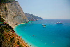 Lefkada island, Greece Stock Photography