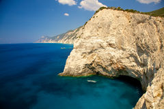 Lefkada island, Greece Stock Photos