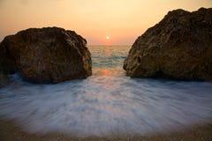 Lefkada island, Greece Stock Photo