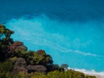 Lefkada island. Part of Southern Ionian, Ionian Sea, Greece Royalty Free Stock Photo