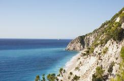 Lefkada Island Stock Image
