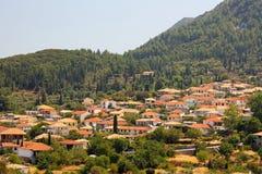 Lefkada Island Village Stock Images