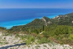 Lefkada Landscape, Ionian Islands Royalty Free Stock Image