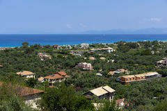 Lefkada Landscape, Ionian Islands Stock Photos