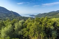Lefkada Landscape, Ionian Islands Stock Image