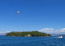 Lefkada, Madouri 1. Lefkada, Madouri island. A view Royalty Free Stock Photo