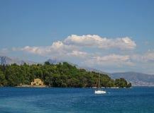 Lefkada, Madouri 2. Lefkada, Madouri island. A view Royalty Free Stock Images
