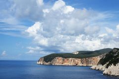 Lefkada - west coast Stock Photo