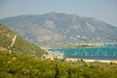 Lefkada wyspa, Grecja Obrazy Royalty Free