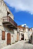 Lefkara, Chipre Imágenes de archivo libres de regalías