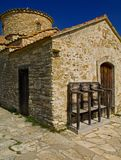 Lefkara church in cyprus Royalty Free Stock Photos