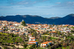 Lefkara, a picturesque village of Larnaca district. Cyprus Royalty Free Stock Images