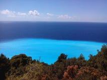 Lefkas ö Grekland Royaltyfria Bilder