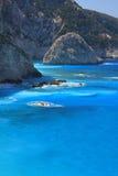 Lefkas Grèce Photo libre de droits