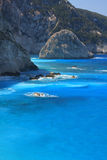 Lefkas Griechenland Lizenzfreies Stockfoto