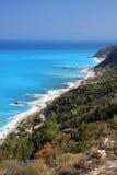 Lefkas Griekenland Stock Afbeeldingen
