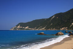 Lefkas Island Royalty Free Stock Photo