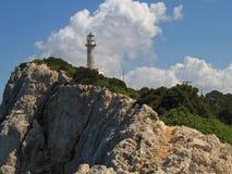 Lefkas, Leuchtturm 4 Stockbilder